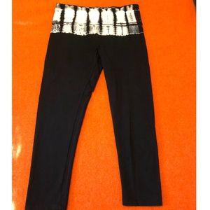 Calvin Klein high waist tie dye capri leggings EUC